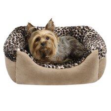 Cuffed Box Nest Dog Bed