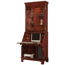 Traditions Painted Computer Secretary with Hutch