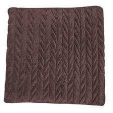 Lungarno Braided Micro-Mink Fabric Throw