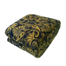 Bauhaus Quilted Printed Mink Throw