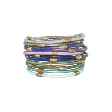 Leather Bangle Bracelet (Set of 12)