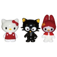 Hello Kitty 1, Chococat and My Melody Figurine
