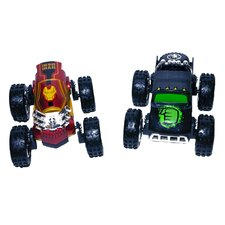 Hulk and Iron Man 1/24 Scale Avengers Vehicle Set