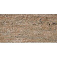 Hemlock 120 cm x 19.5 cm Tile in Teak (Set of 4)