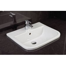 Series 600 Vitreous China Inset Vanity Bowl Basin