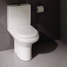Compact Deluxe Rimless Close Coupled Toilet
