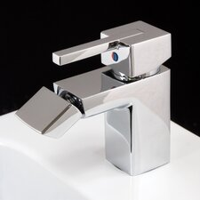 Profile Monobloc Bidet Tap without Pop-up Waste in Chrome