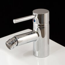 Prime Monobloc Bidet Tap without Pop-up Waste in Chrome