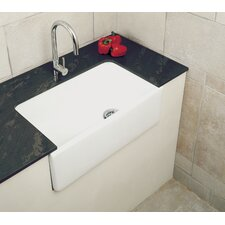 Gourmet 75.5 x 45.5cm Rectangular Belfast Kitchen Sink