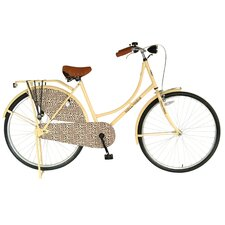 "Woman's City Leopard 28"" Comfort Bike"