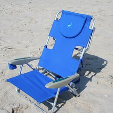 On-Your-Back Backpack Beach Chair