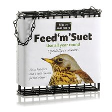 "Fed ""N"" Watered Feed ""M"" Suet Feeder"