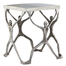 Aluminum Man Figure Stool