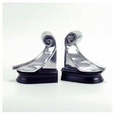 <strong>Modern Day Accents</strong> Feather Book Ends (Set of 2)