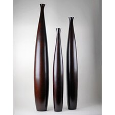 <strong>Modern Day Accents</strong> 3 Piece Tall Vase Set