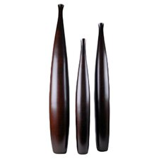3 Piece Tall Vase Set