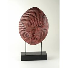 <strong>Modern Day Accents</strong> Carved Thumb Print Sculpture