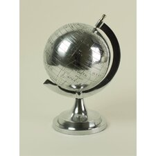 <strong>Modern Day Accents</strong> Aluminum Old World Globe