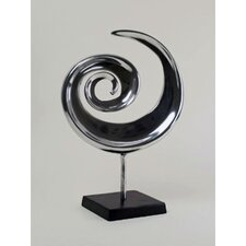 <strong>Modern Day Accents</strong> Swirl Sculpture