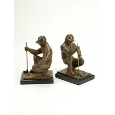 Golfer Bookend (Set of 2)