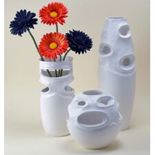Pierced Vases and Orb Set (Set of 3)