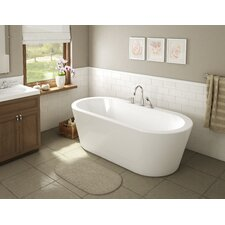 "Una 71"" x 34"" Freestanding Bathtub"