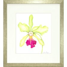 Floral Living Orchid Beauty 3 Framed Graphic Art