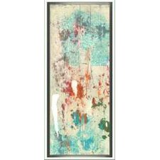 Modern Living Layers of Paint I Framed Painting Print