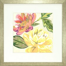 <strong>Indigo Avenue</strong> Floral Living Modern Chintz 2 Framed Wall Art