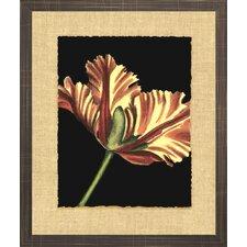 Floral Living Vibrant Tulips I Framed Painting Print