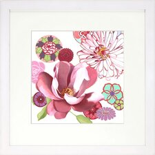<strong>Indigo Avenue</strong> Floral Living Petal Profusion 1Framed Wall Art