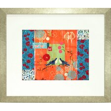 <strong>Indigo Avenue</strong> Vibrant Living When You Told Me You Loved Me Framed Wall Art