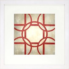 Modern Living Classical Symmetry II Framed Wall Art