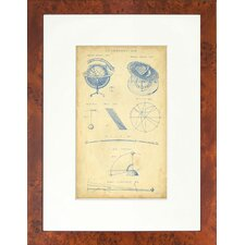 Seaside Living Vingate Astronomy I1I Framed Wall Art