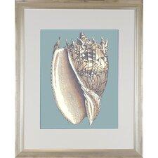 Seaside Living Oceans Jewel II Framed Graphic Art