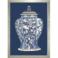 Fresh Traditions Living 'Porcelain Vase I' Framed Painting Print
