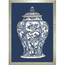 Fresh Traditions Living 'Porcelain Vase II' Framed Painting Print