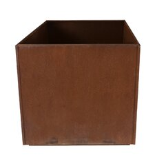 Corten Steel Square Planter