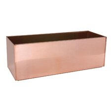 Copper Rectangular Planter
