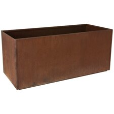 Corten Steel Rectangular Planter