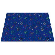 I Know My Shapes Kids Rug