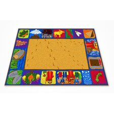 <strong>KidCarpet.com</strong> Exodus Bible School Kids Rug
