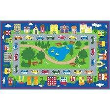 Around Town Road Area Rug