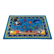 Fish in the Sea Kids Rug