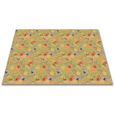 <strong>KidCarpet.com</strong> Animal Doodles Multicolor on Tan Kids Rug