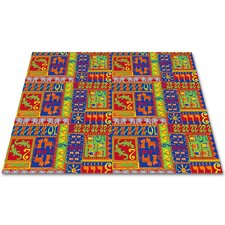 Counting Animals Kids Rug