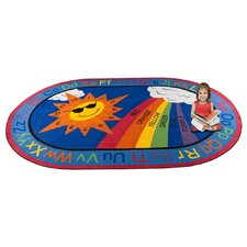 <strong>KidCarpet.com</strong> Sky's the Limit Learning Kids Rug