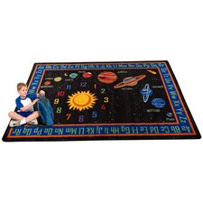Outer Space Kids Rug
