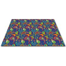 <strong>KidCarpet.com</strong> Paisley with ABC Kids Rug