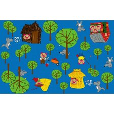 <strong>KidCarpet.com</strong> Huff and Puff Nursery Kids Rug